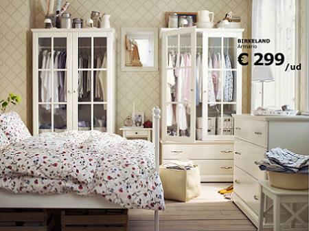 Dormitorio vintage de ikea - Dormitorios baratos ikea ...