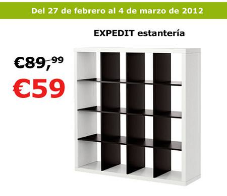 Oferta ikea estanter a expedit por 59 euros - Medidas estanteria expedit ...