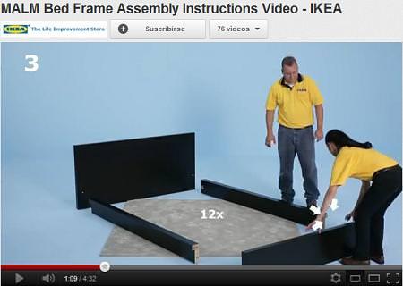 Instrucciones ikea en video for Instrucciones muebles ikea
