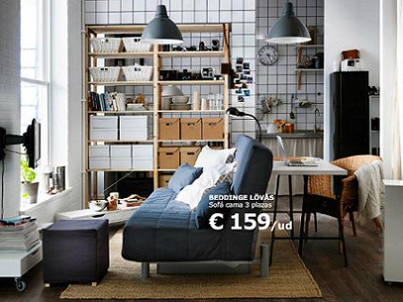 Separar ambientes con Ikea