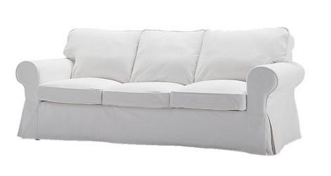 Oferta ikea sof ektorp - Funda sofa blanca ...