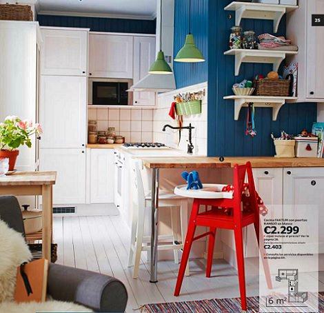 Dise a ya tu modelo favorito con el cat logo de cocinas de - Cocinas de ikea fotos ...