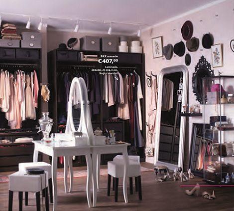 armarios vestidores ikea pax