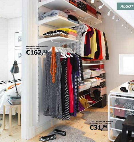 Armarios vestidores de ikea para el dormitorio - Ikea perchas ropa ...