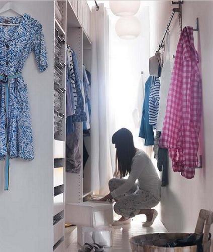 Armarios vestidores de Ikea para el dormitorio