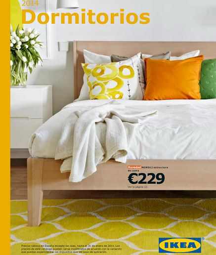 Cat logo ikea 2014 dormitorios for Catalogo de camas ikea