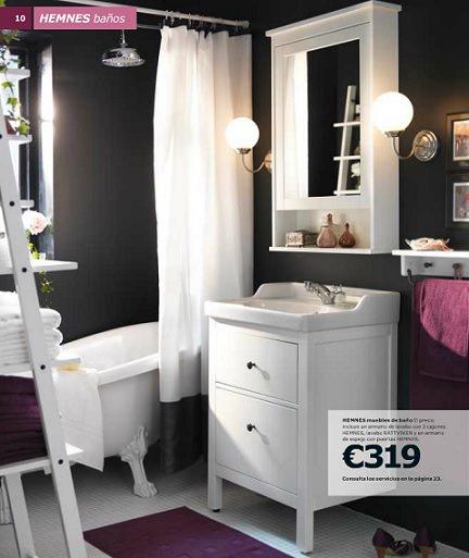 Renueva tu ba o con el nuevo cat logo de ikea 2014 - Ikea armarios bano ...