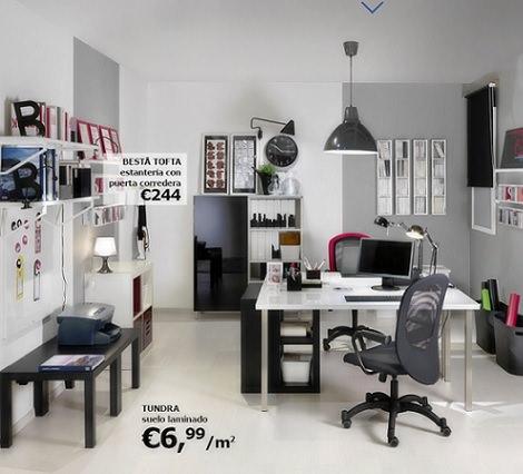 Ikea Muebles De Oficina. Perfect Decoracion Despacho Ikea Mobiliario ...