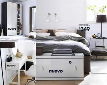 Cat logo ikea 2009 novedades en la serie vinstra para el - Ikea armarios dormitorio catalogo ...