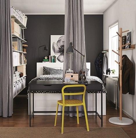 novedades del cat logo de ikea 2015 en dormitorios. Black Bedroom Furniture Sets. Home Design Ideas