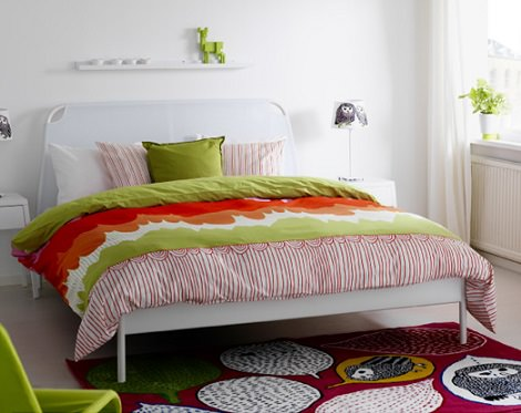 Dormitorios de ikea para el oto o nueva colecci n de textiles - Ikea alfombras dormitorio ...