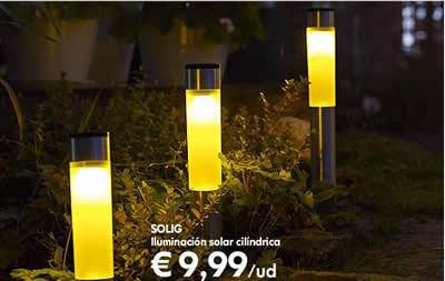 L mparas solares de ikea para jardines ecol gicos decoraci n - Iluminacion jardin solar ...
