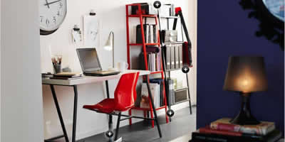 Un despacho de ikea en casa por menos de 75 euros decoraci n - Despacho en casa ikea ...
