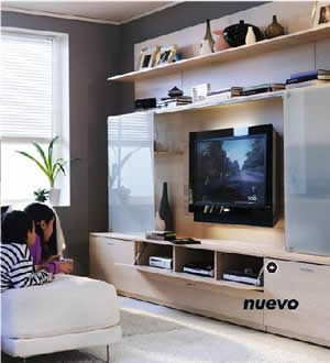 Cat logo ikea 2009 mueble de sal n stiby for Muebles para tv conforama