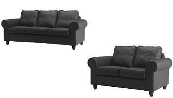 Rebajas de verano ikea sof s fixhult de 2 y 3 plazas for Rebajas sofas de piel