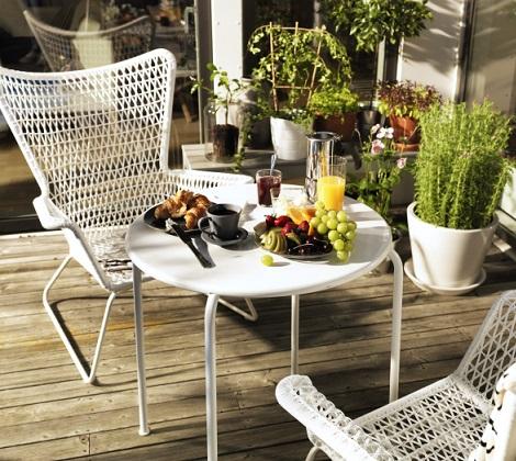La colecci n de sillas y sillones de ikea para el jard n for Sillas colgantes para jardin
