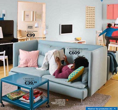 Los nuevos sof s del cat logo de ikea 2014 - Sofas grandes ikea ...