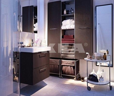 Ba os peque os de ikea la soluci n a los problemas de espacio for Muebles de bano para espacios pequenos