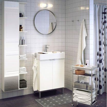 Los espejos m s baratos de ikea para el ba o for Espejos con formas originales