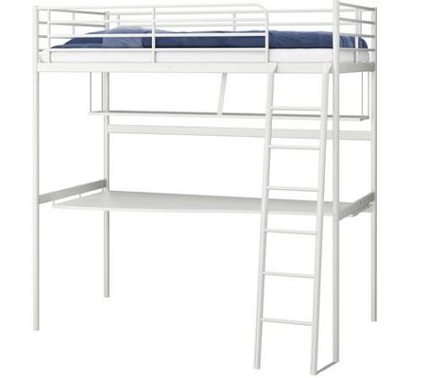 los modelos de camas altas de ikea