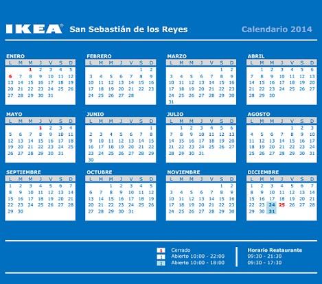horario ikea san sebastián de los reyes ikea 2014