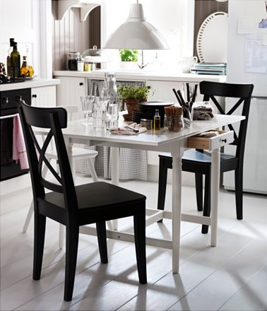 mesas de cocina baratas de ikea redondas extensibles y de. Black Bedroom Furniture Sets. Home Design Ideas