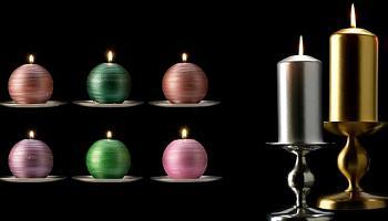 velas navideas ikea