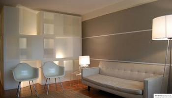 Muro de estanter as expedit ikea como separador de ambientes decoraci n - Estanterias separadoras de ambientes ...