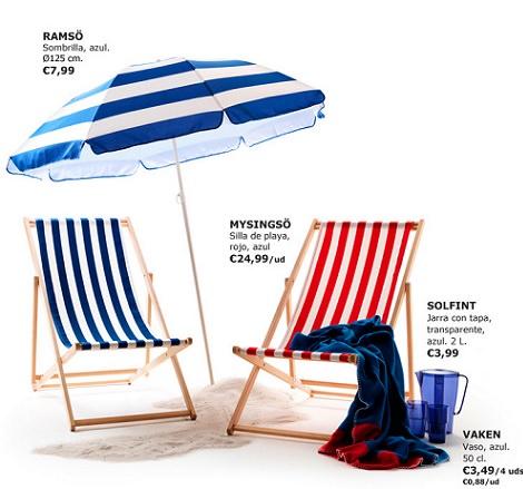 Nuevas tumbonas sillas y hamacas de ikea para el verano 2014 for Sillas de exterior ikea