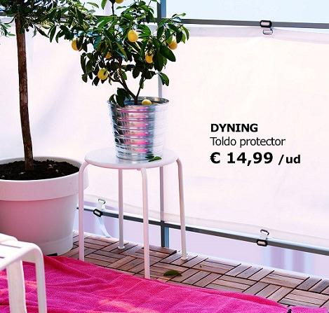 5 ideas de muebles de exterior y accesorios para tu terraza o jard n - Ikea jardin toldos roubaix ...