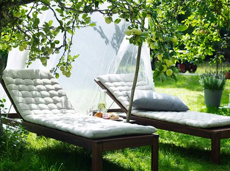 Muebles de ikea para terraza y jard n 2014 - Ikea desserte jardin ...