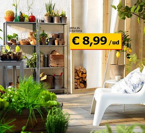 Las propuestas de ikea para terraza y jard n 2013 for Ikea jardin 2015