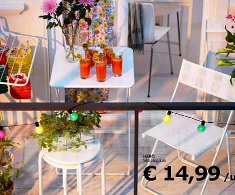 Las propuestas de ikea para terraza y jard n 2013 - Luces decorativas ikea ...