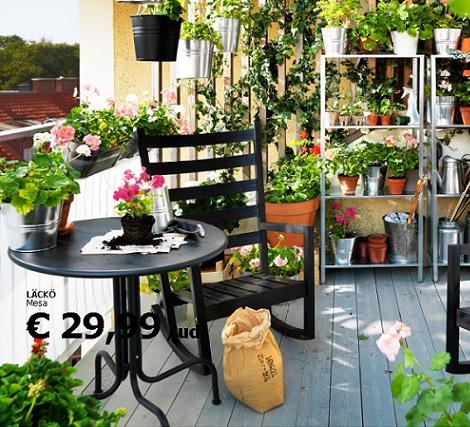 Ikea muebles de terraza y jardin