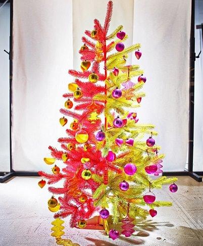rbol bicolor de navidad de ikea