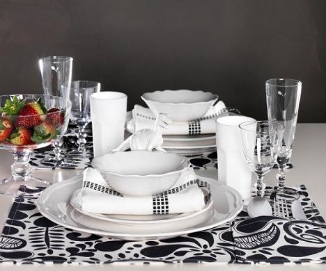 5 ideas para decorar tu mesa de navidad con estilo - Vajillas navidad ikea ...