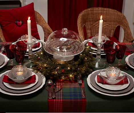 5 ideas para decorar tu mesa de navidad con estilo - Adornos navidenos para mesas ...