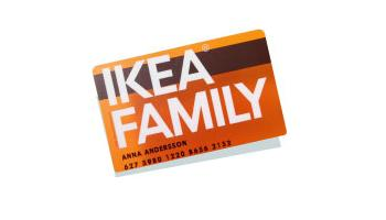 Tarjeta ikea Family