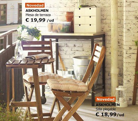 Las propuestas de ikea para decorar tu balc n verano 2014 - Mesa para balcon ...