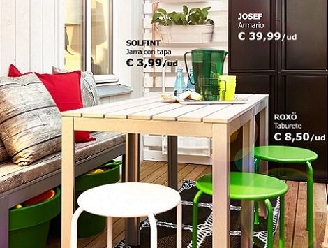 Las propuestas de ikea para decorar tu balc n verano 2014 for Ikea jardin catalogo