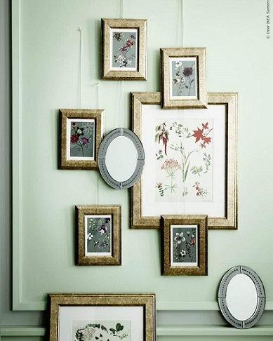 El estilo rom ntico llega a tu hogar con la nueva - Ikea marcos cuadros ...