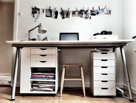 Zona de estudio ikea for Ikea mesas de estudio precios