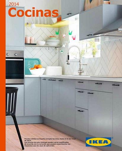 portada del catálogo de Ikea cocinas 2014