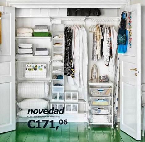Los armarios baratos de ikea 2013 - Ideas para armarios empotrados pequenos ...