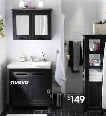 cat logo ikea 2009 novedades en ba o freden. Black Bedroom Furniture Sets. Home Design Ideas
