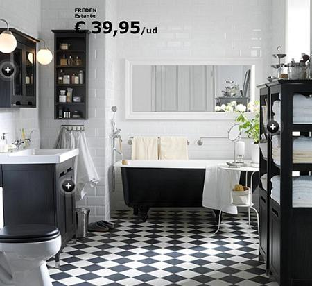 un ejemplo de ba o r stico con freden de ikea. Black Bedroom Furniture Sets. Home Design Ideas