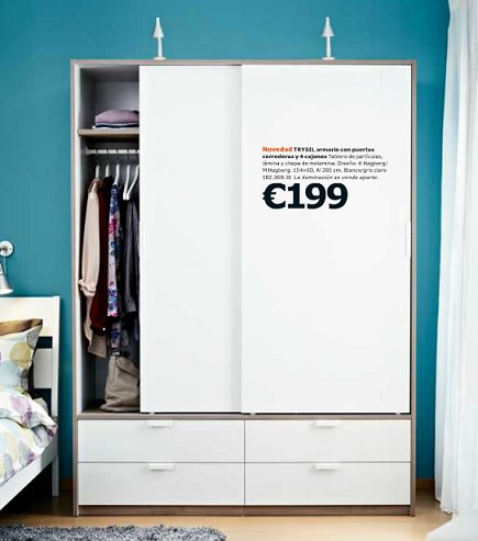 Ya no hay excusa para no tener todo en orden con el - Muebles ikea armarios precios ...