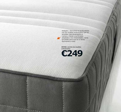 La Clave Del Descanso Con En Catalogo De Colchones De Ikea 2014