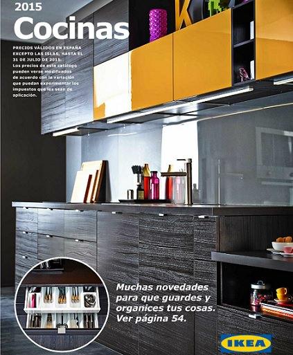 catálogo ikea cocinas 2015 online