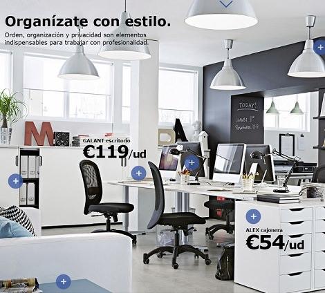 Cat logo de ikea business 2014 oficinas y negocios - Despacho en casa ikea ...